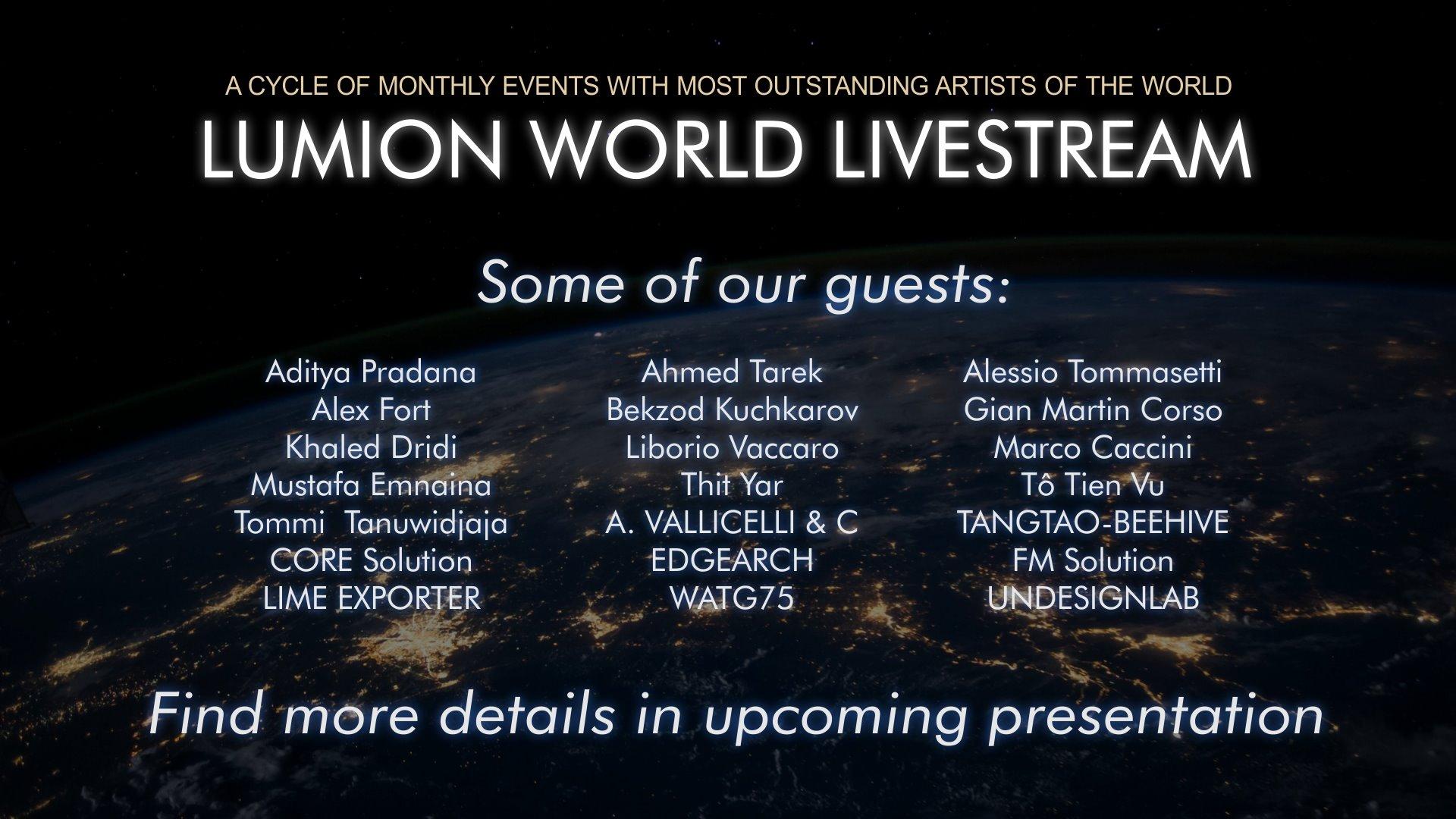 Lumion World LiveStream