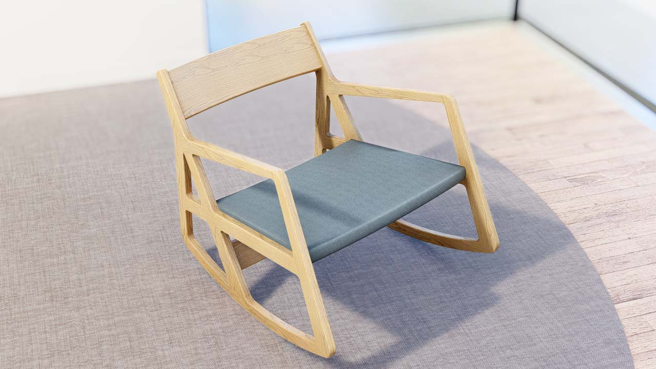 Lumion Assets Indoor Chair Model